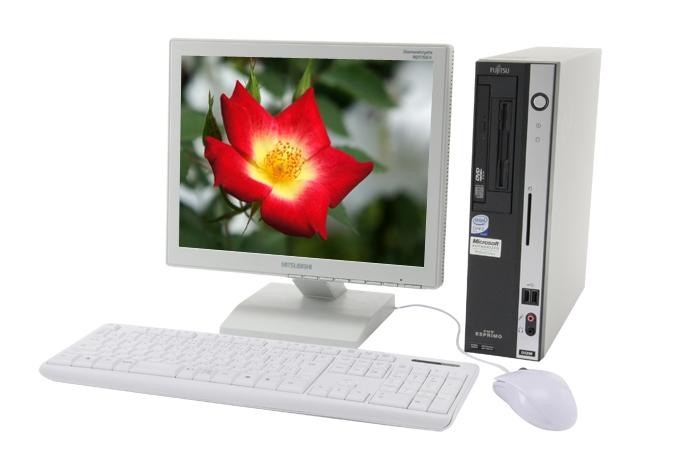 富士通 FMV-D5290 (Pentium E5300 2.6GHz/2GB/160GB) Windows7搭載!