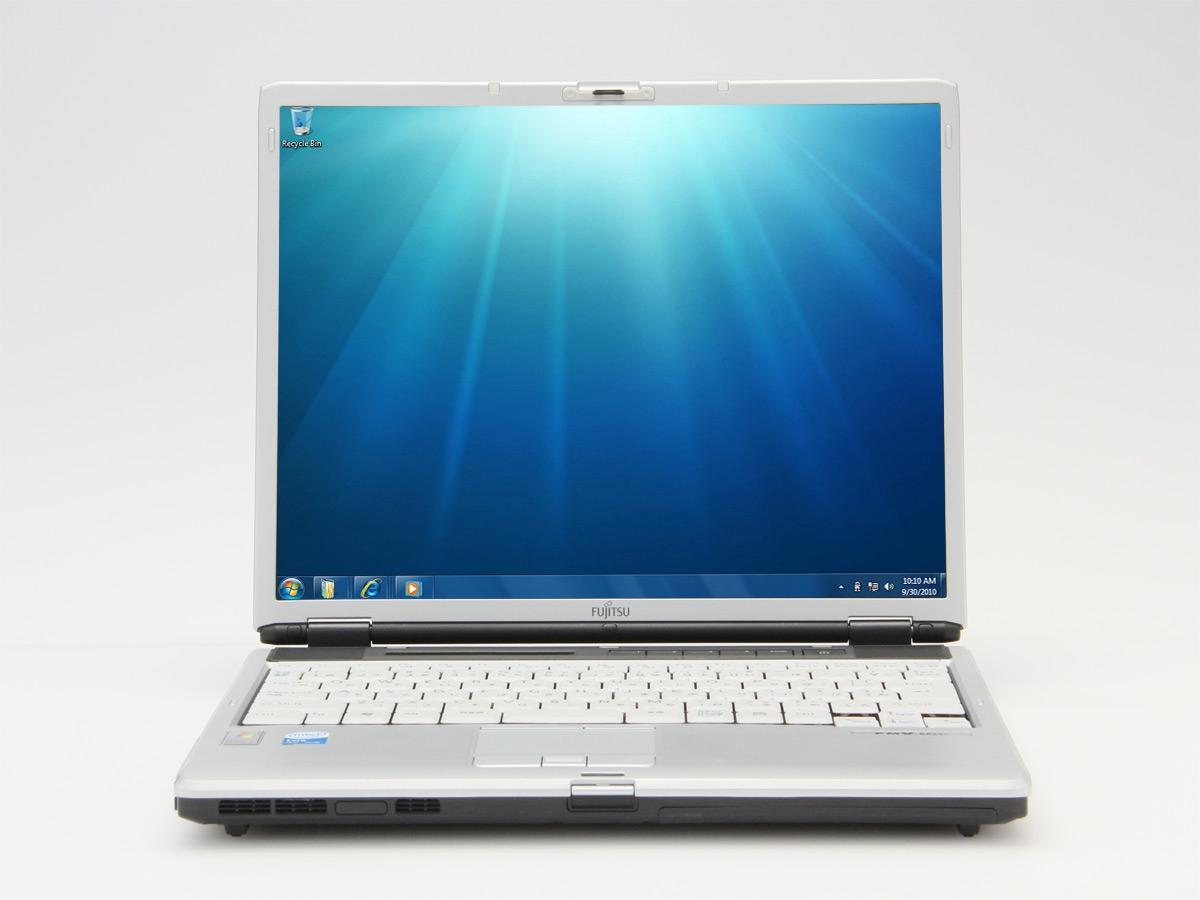 富士通 FMV-S8225(CoreSolo 1.6GHz/1GB/40GB)軽量・薄型ノートパソコン!